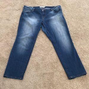 Torrid size 20 medium wash boyfriend jeans